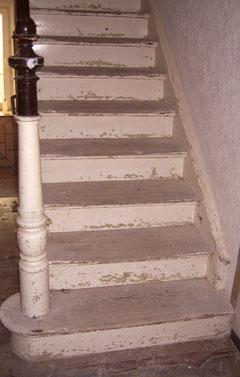 Treppe Flexistep - vorher